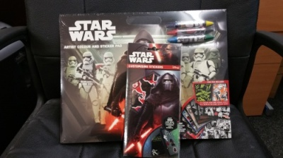 Star Wars 7 - Artist Pad + Customising Stickers